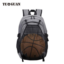 Load image into Gallery viewer, Tuguan new basketball backpack men's schoolbag exercise fitness bag USB charging Backpack CF-1806S