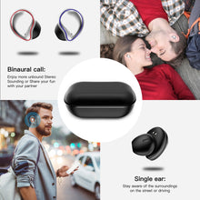 Load image into Gallery viewer, New SE9 Smart Wireless Bluetooth Headset 5.0 Half-in Ear-to-ear Invisible Mini True Stereo Earphone