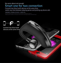 Load image into Gallery viewer, Bluetooth Earphone CSR voice control V9