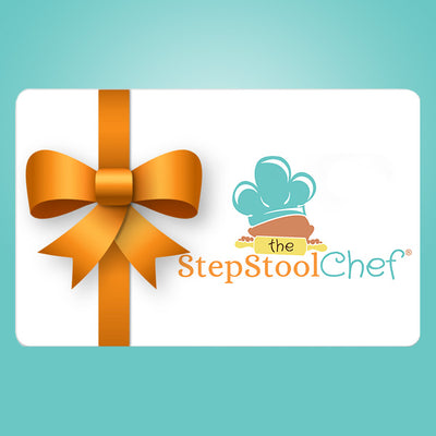 Step Stool Chef Gift Card - Step Stool Chef | Empowering Kids As Leaders In The Kitchen