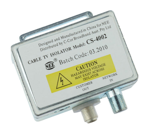 Cable TV Isolator