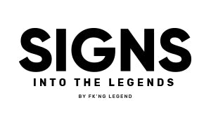 Logo SIGNS by FK'NG Legend