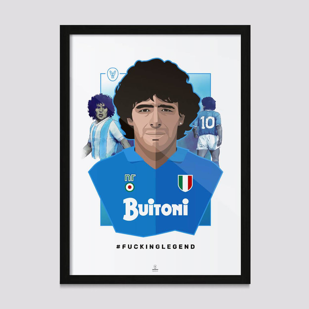 "Poster ""Diego"" - Premium Paper - FK'NG LEGEND"