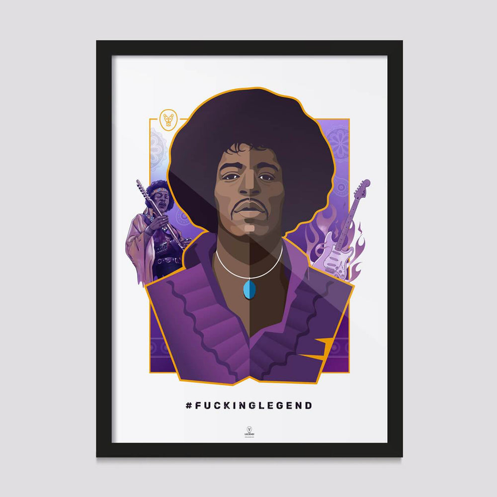Load image into Gallery viewer, Poster Jimi Hendrix