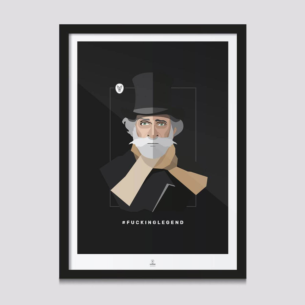"Poster ""Maestro"" 50 x 70 cm - FK'NG LEGEND"