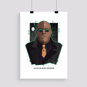 "Load image into Gallery viewer, Poster ""Morpheus"" 50 x 70 cm - FK'NG LEGEND"