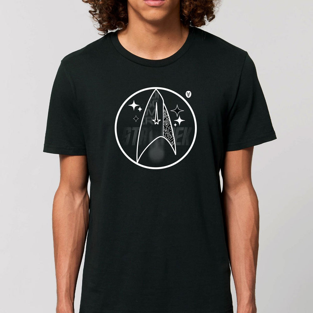"T-Shirt UNISEX SIGNS ""Discovery"" - Dark - FK'NG LEGEND"