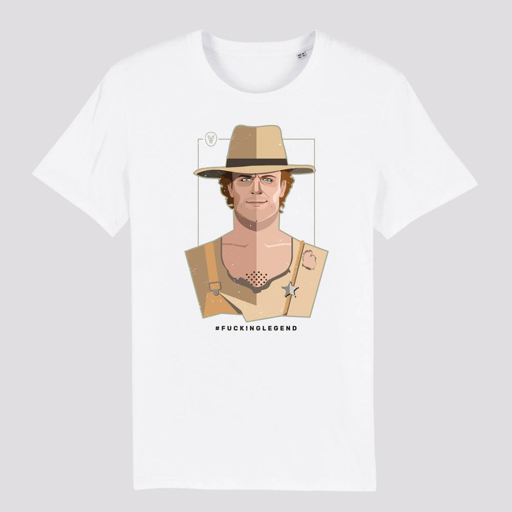 "Load image into Gallery viewer, T-Shirt UNISEX ""Trinità"" - FK'NG LEGEND"