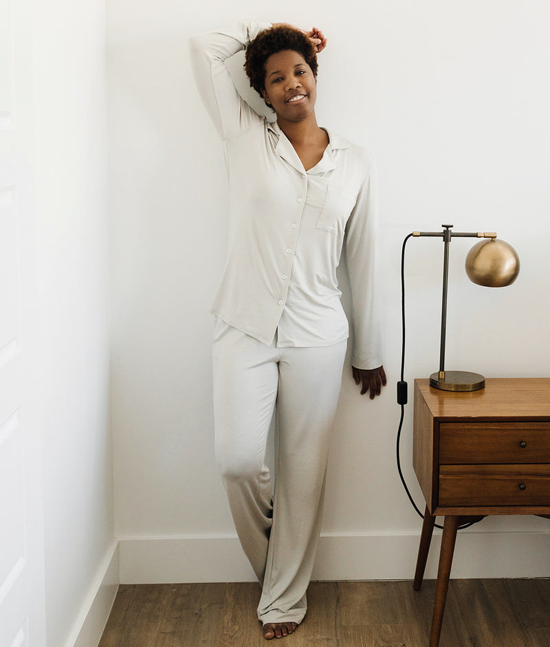 The Hospital Bundle - Classic Long Sleeve Dream Set - Gray