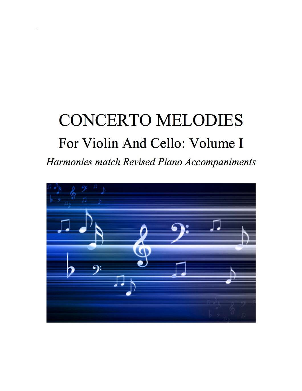 012 - Concerto Melodies For Violin/Cello, Volume I (Seitz #2, Vivaldi a & g minor, Reiding b minor)