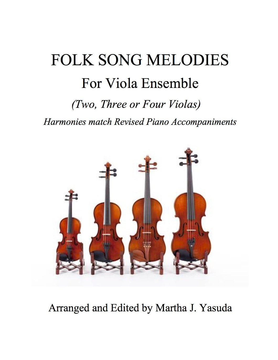 017 BUNDLE - Folk Song Melodies For Viola Ensemble (Twinkle - Etude)