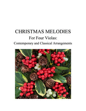 Load image into Gallery viewer, 044B - Christmas Melodies For Four Violas, Volume I
