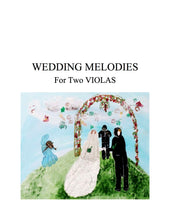 Load image into Gallery viewer, 050 - Wedding Melodies for Two Violas