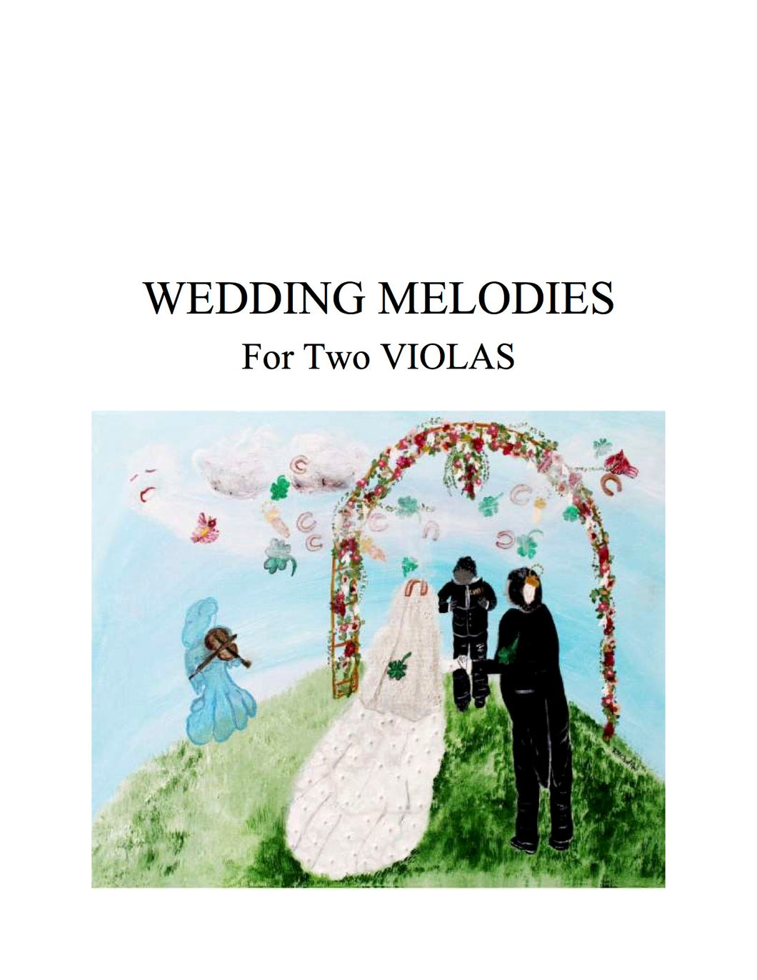 050 - Wedding Melodies for Two Violas