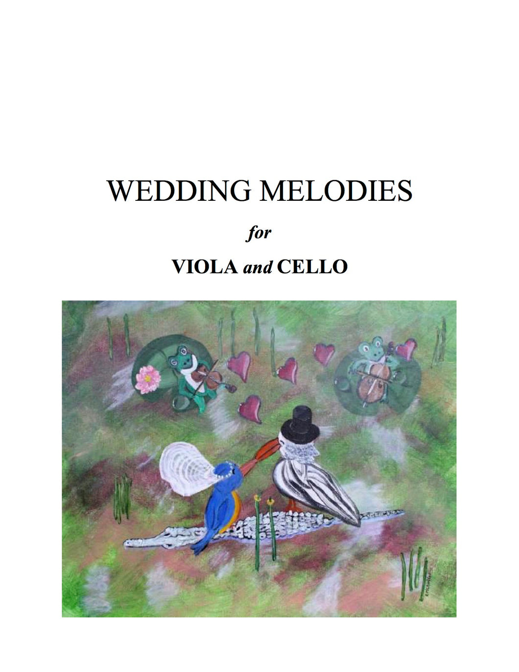 059 - Wedding Melodies For Viola and Cello