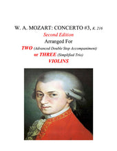 Load image into Gallery viewer, 062 - W. A. MOZART: CONCERTO #4, K. 218