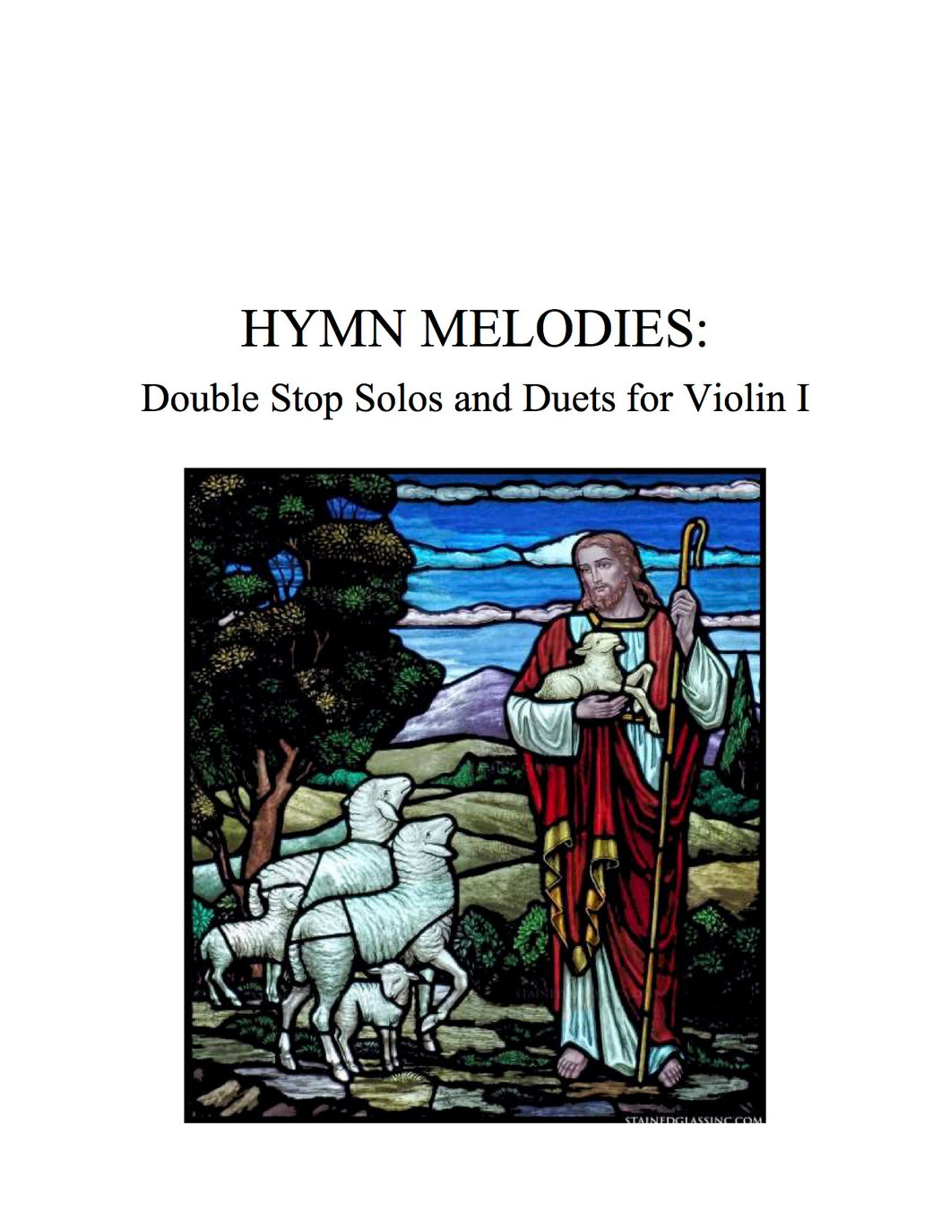 070 Hymn Melodies: Double Stop Solos and Duets For Violin, Volume I