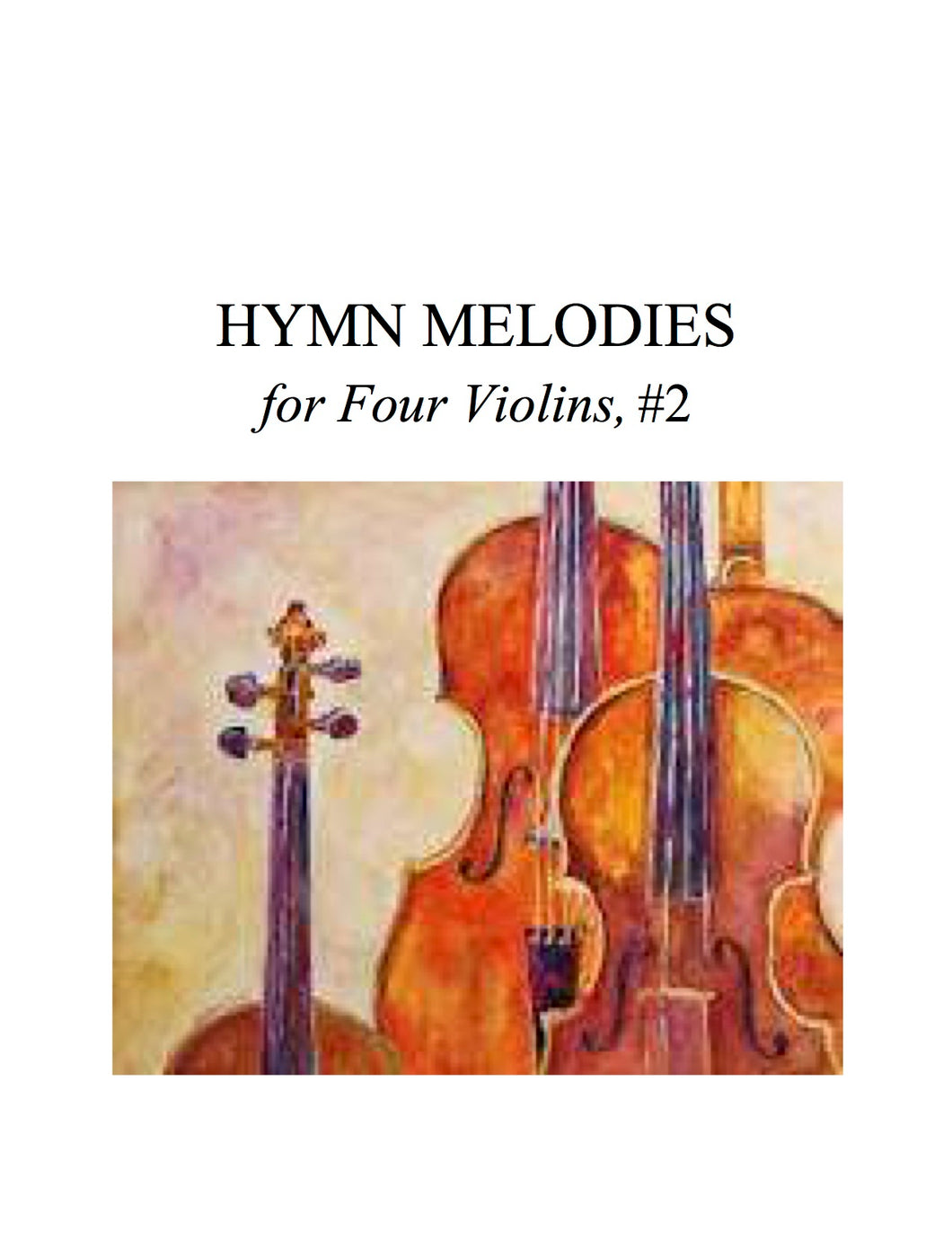 075 Hymn Melodies For Four Violins #2