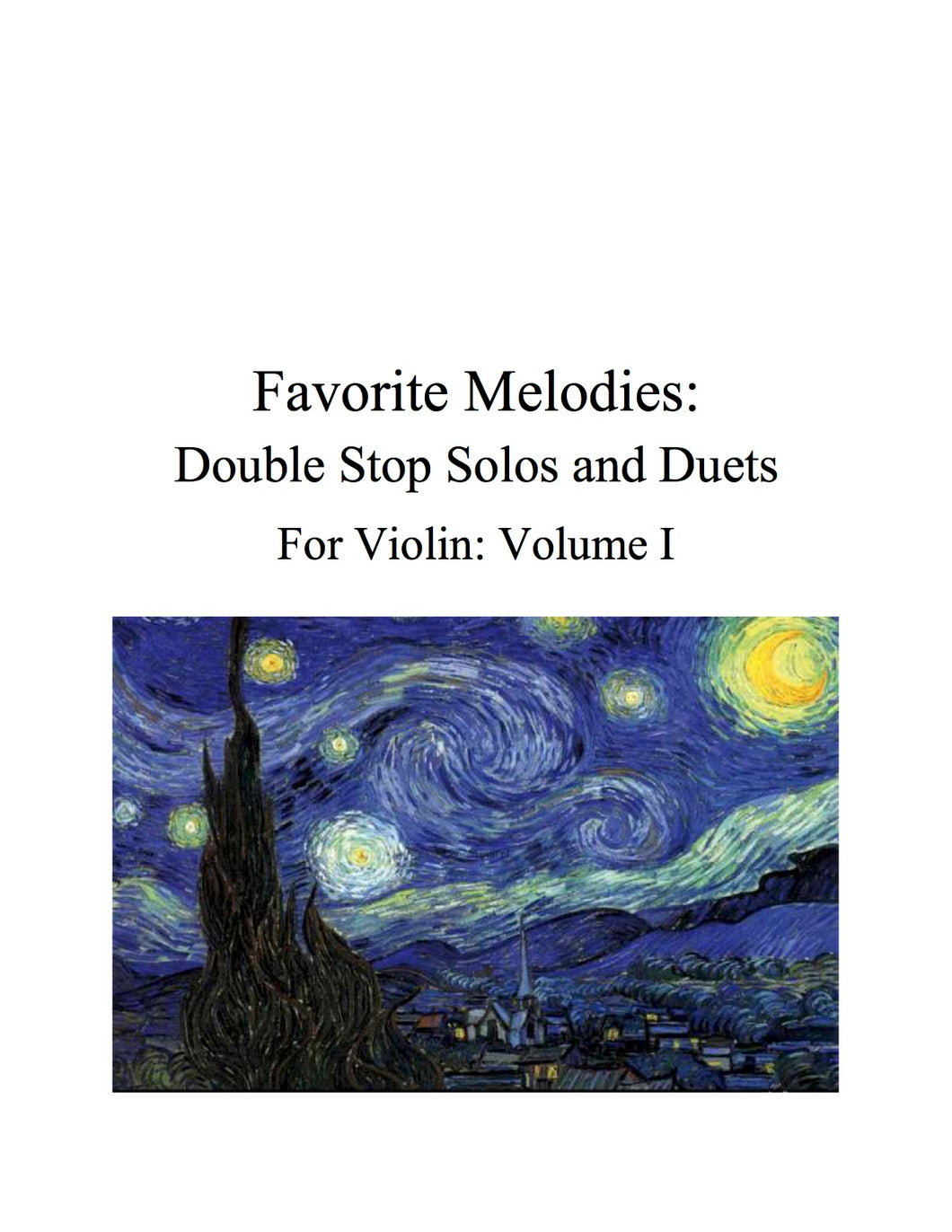 084 - Favorite Melodies I: Double Stop Solos and Duets for Violin (with 10 Suzuki Bk. I pieces)