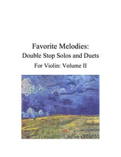 Load image into Gallery viewer, 085 - Favorite Melodies II: Double Stop Solos and Duets for Violin (with 10 Suzuki Bk. I pieces)