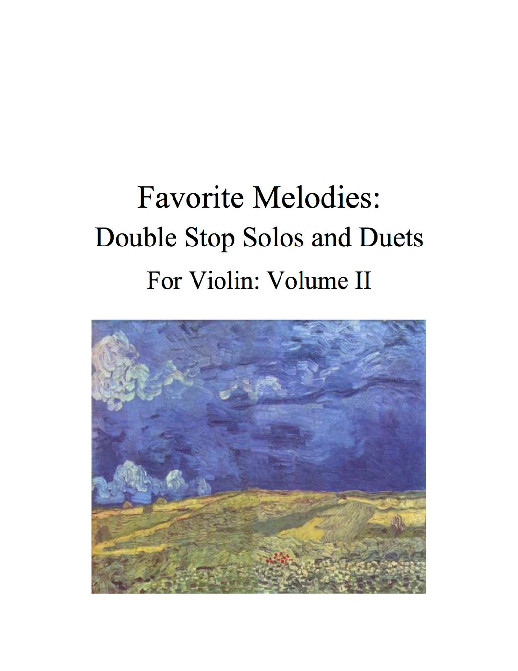 085 - Favorite Melodies II: Double Stop Solos and Duets for Violin (with 10 Suzuki Bk. I pieces)