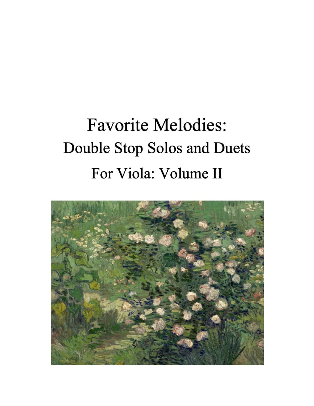 087 - Favorite Melodies II: Double Stop Solos and Duets for Viola (with 10 Suzuki Bk. I pieces)