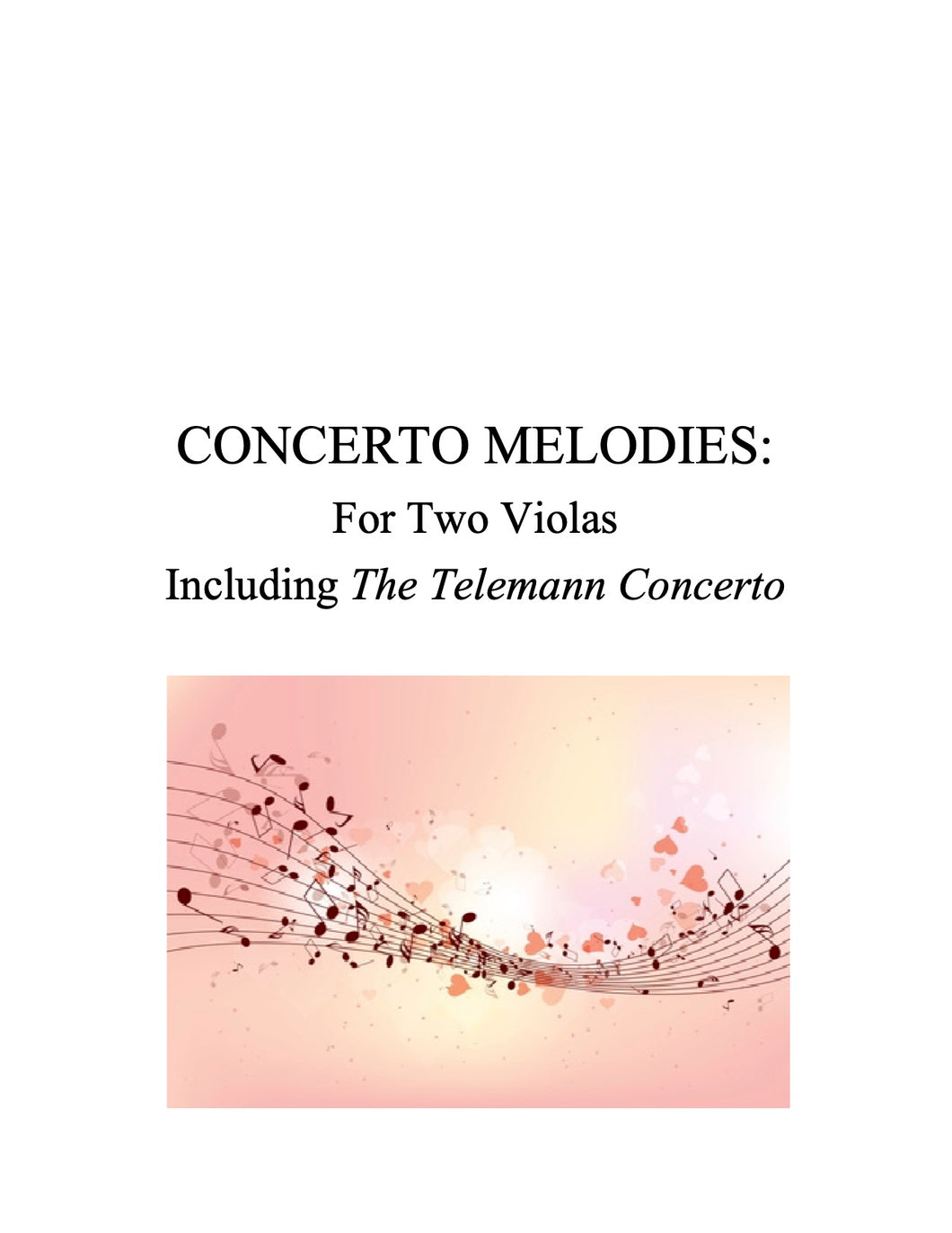 088 Concerto Melodies for Two Violas