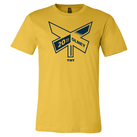 20th & Olney - 2016 Maize Yellow Tshirt