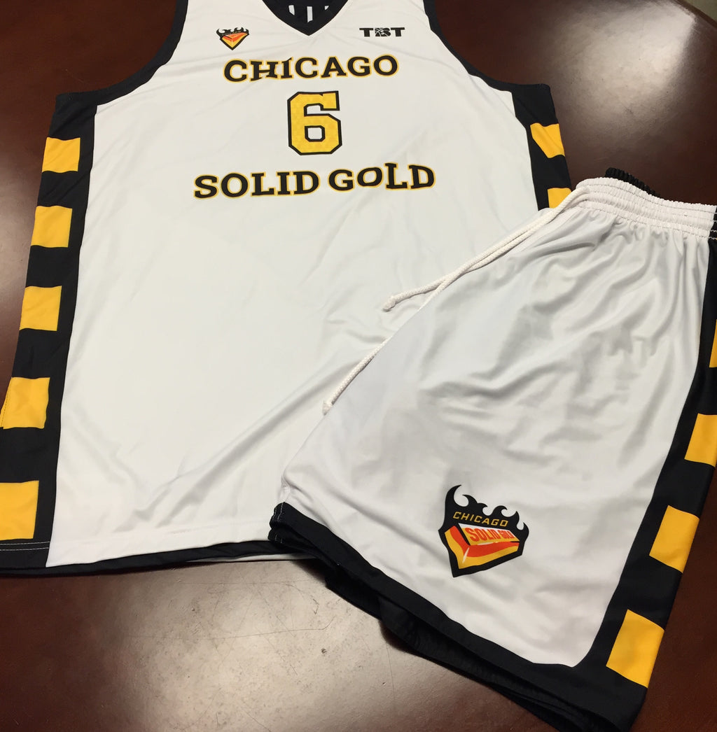 Chicago Solid Gold - 2014 Official Team Uniform