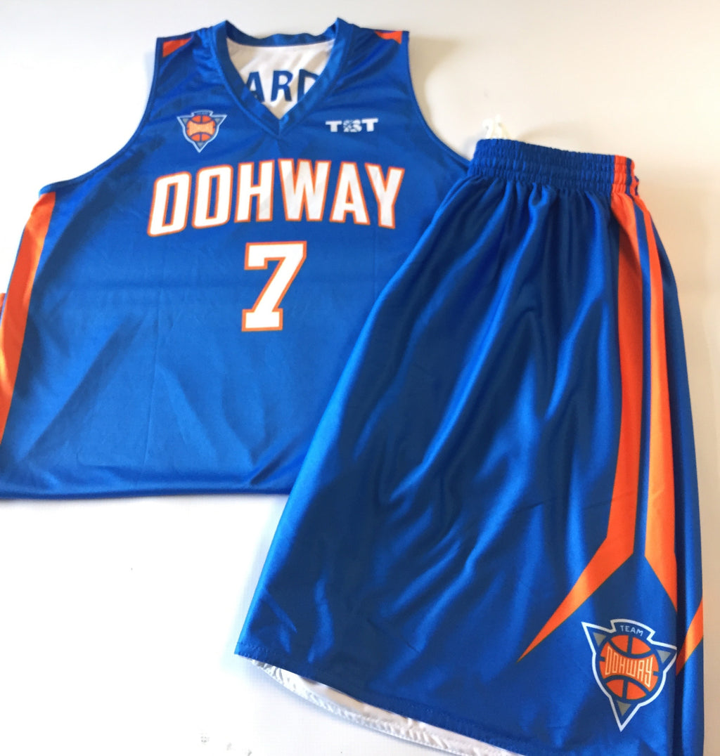 Team Oohway - 2015 Official Team Jersey