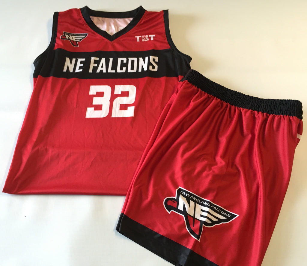 New England Falcons - 2015 Official Team Uniform (Jersey & Shorts sold separately)