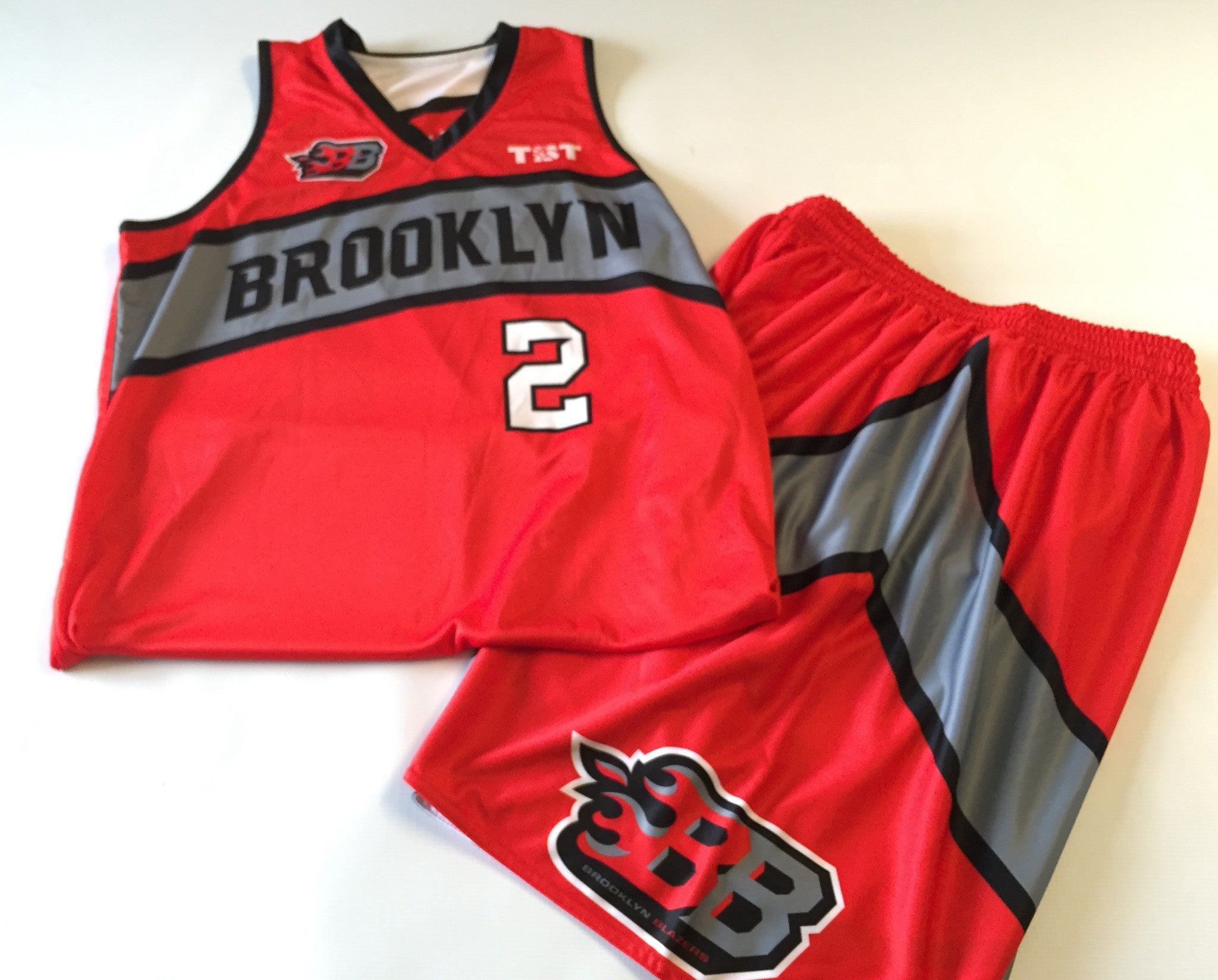Brooklyn Blazers - 2015 Official Team Uniform (Jersey & Shorts sold separately)