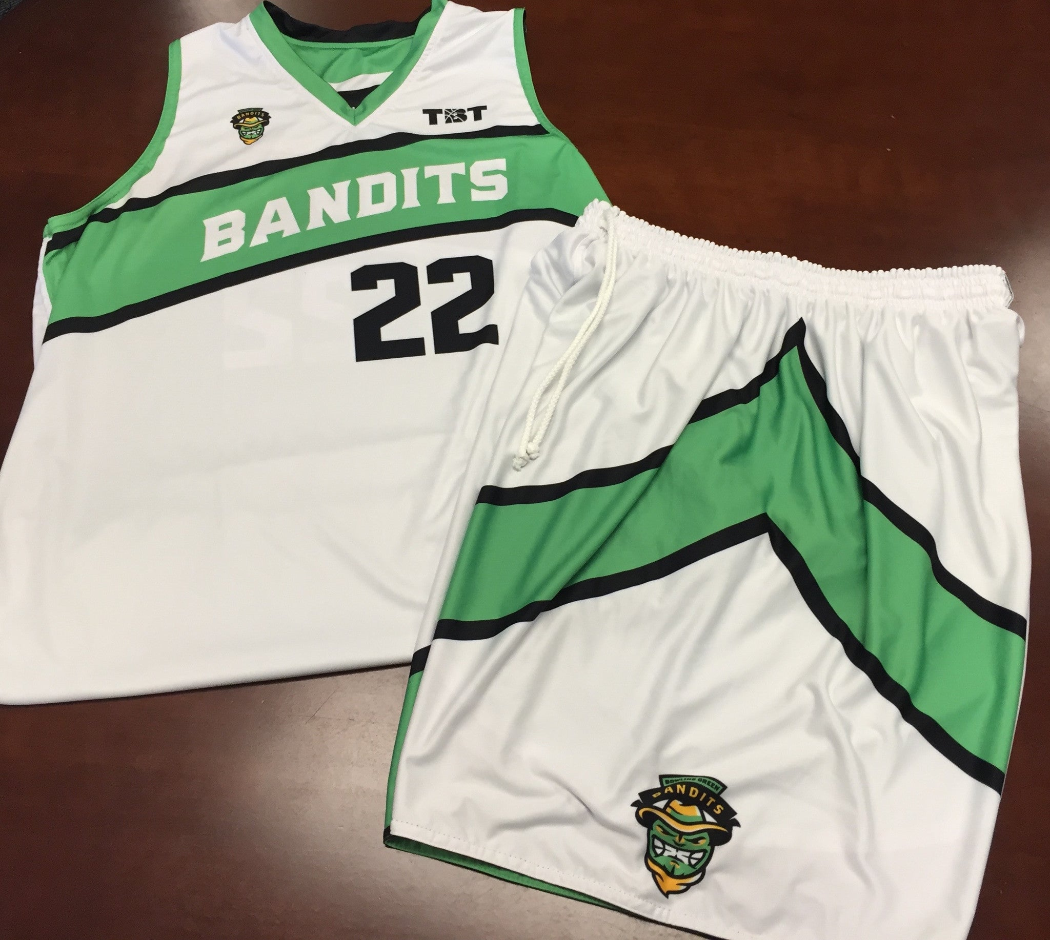 Bowling Green Bandits - 2015 Official Team Uniform (Jersey & Shorts sold separately)
