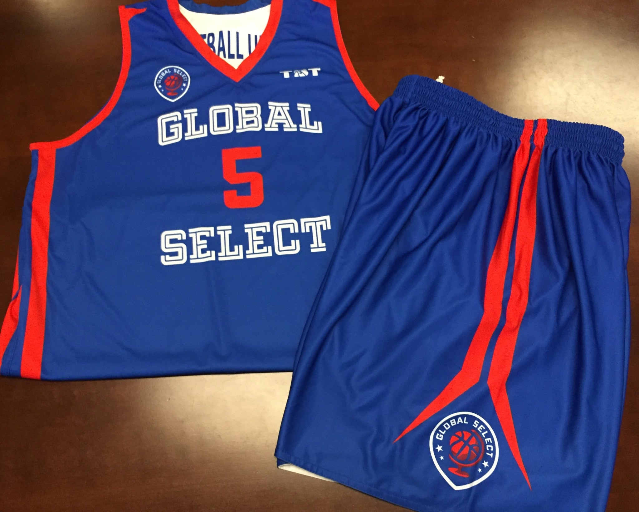 Global Select - 2015 Official Team Uniform (Jersey & Shorts sold separately)