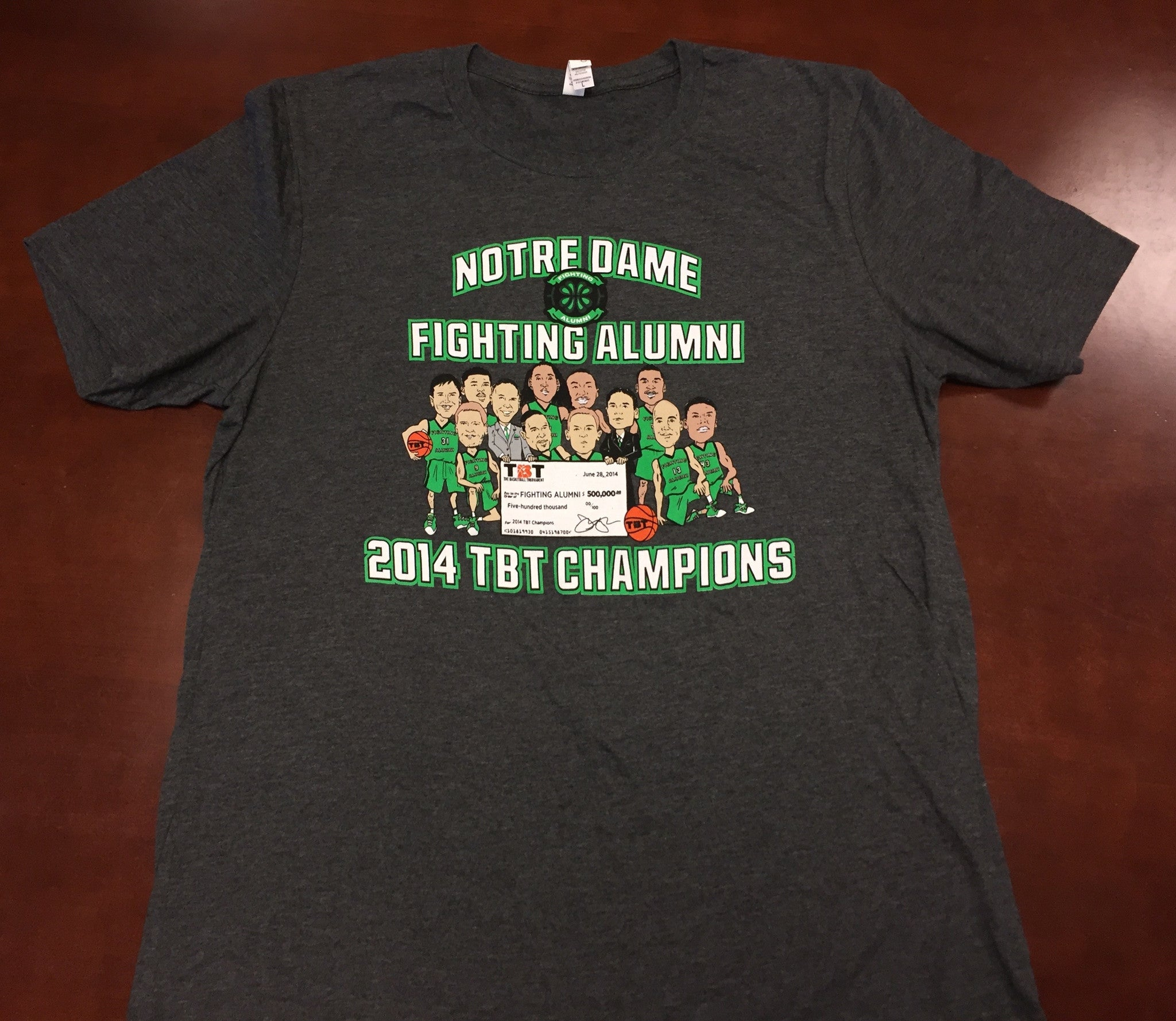 Notre Dame Fighting Alumni - 2014 TBT Champions Tee