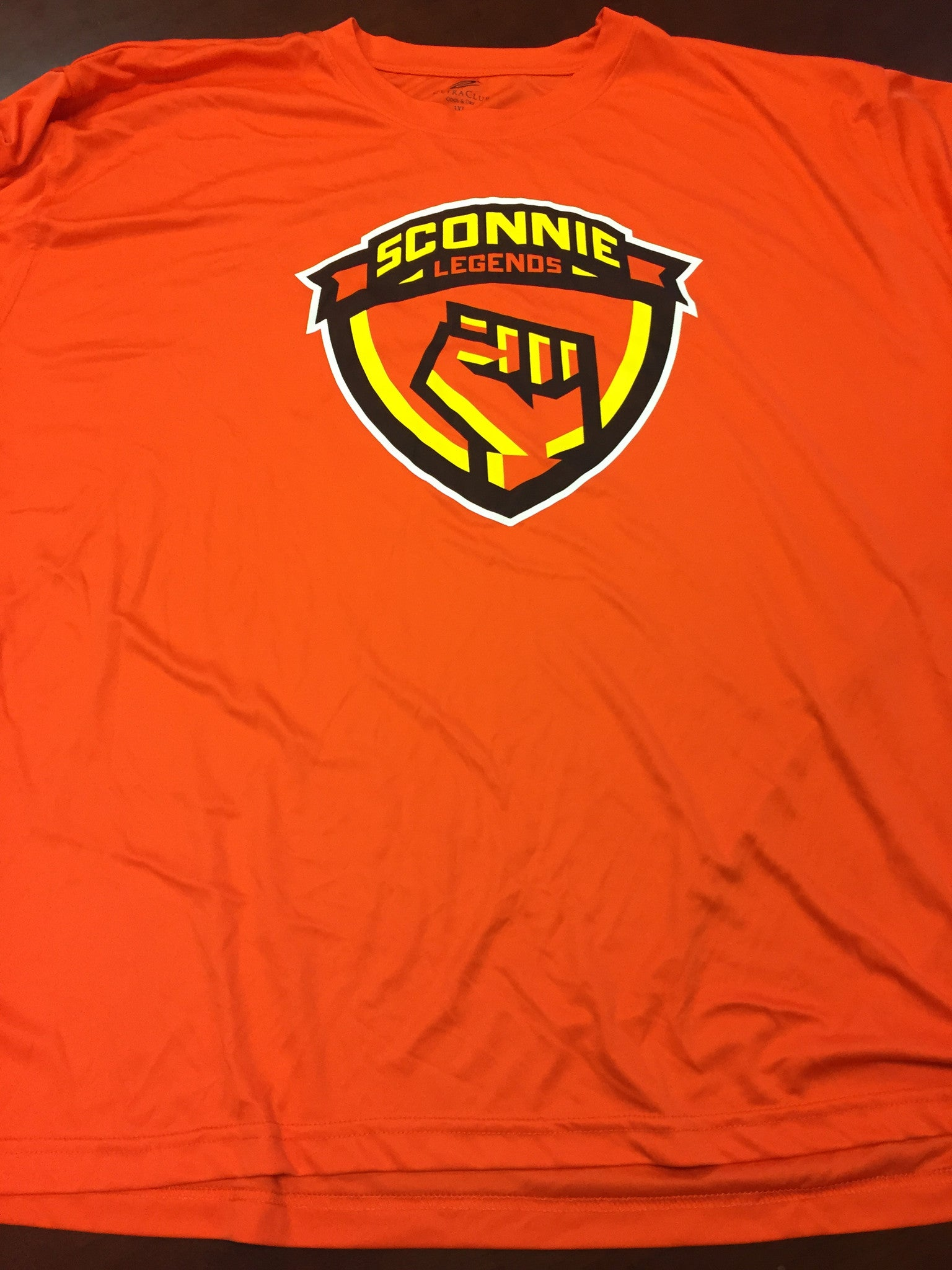 Sconnie Legends - 2014 Official Team Jersey & Warm-Up T