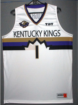 Kentucky Kings - 2017 Official Team Jersey (White)