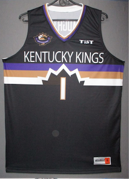 Kentucky Kings - 2017 Official Team Jersey (Black)