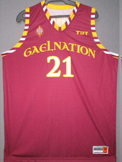 Gael Nation (Iona College Alumni) - 2017 Official Team Jersey (Red)