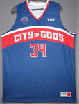 City of Gods - 2017 Official Team Jersey (Blue)