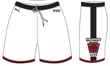 Team Brotherly Love Official Shorts