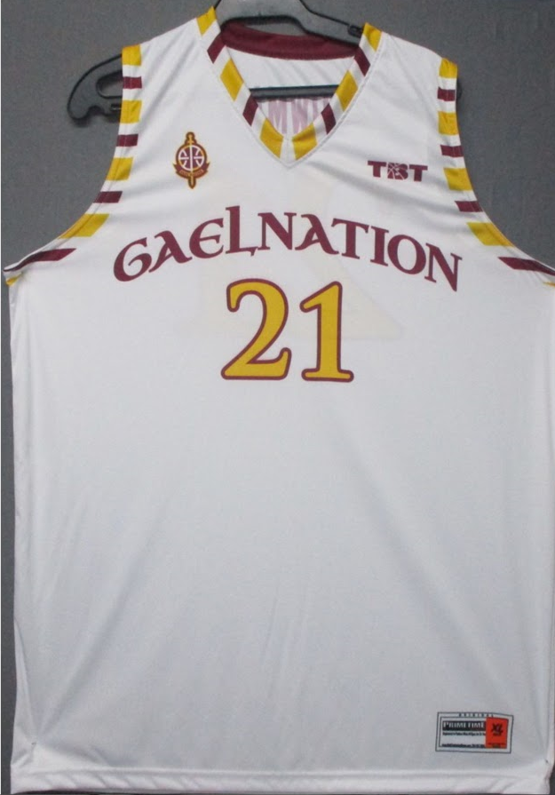 Gael Nation (Iona College Alumni) - 2017 Official Team Jersey (White)