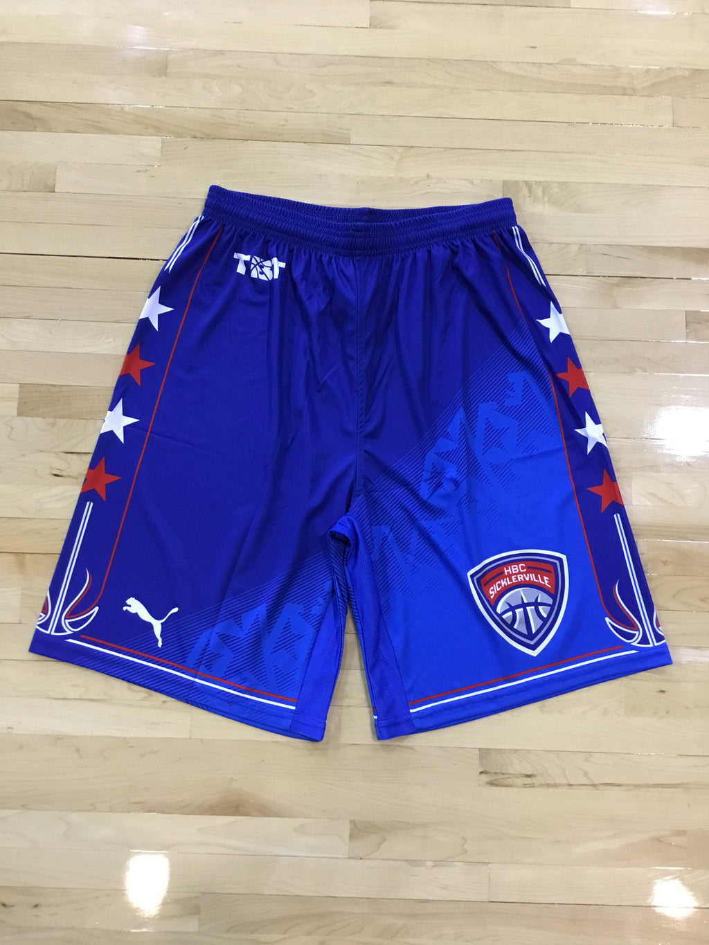 HBC Sicklerville - 2018 Official Team Shorts (Blue)
