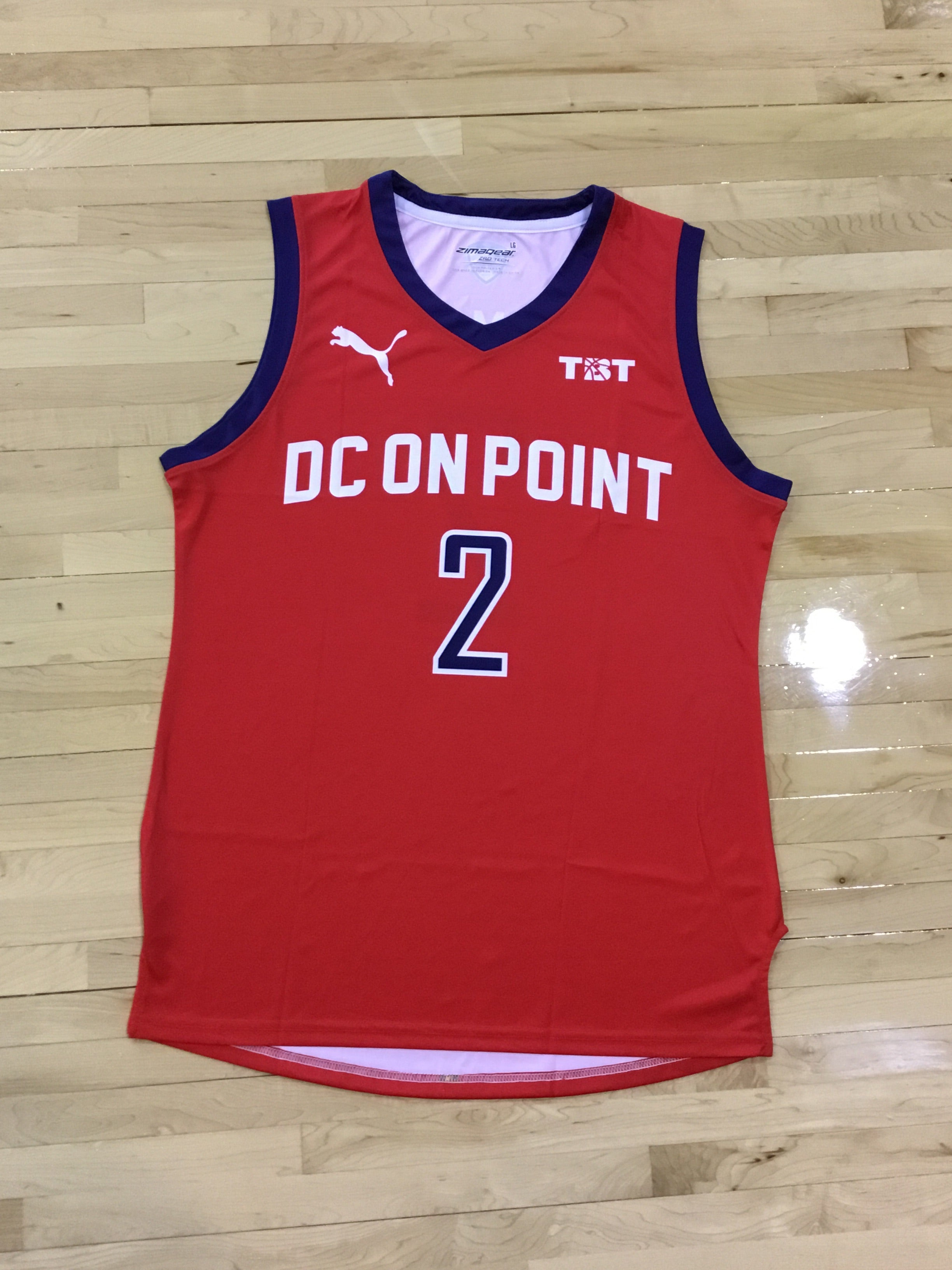 DC On Point - 2018 Official Team Jersey