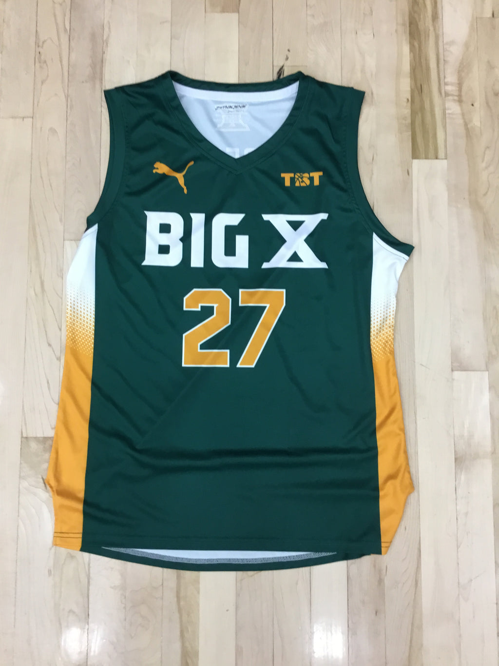 Big X - 2018 Official Team Jersey Green