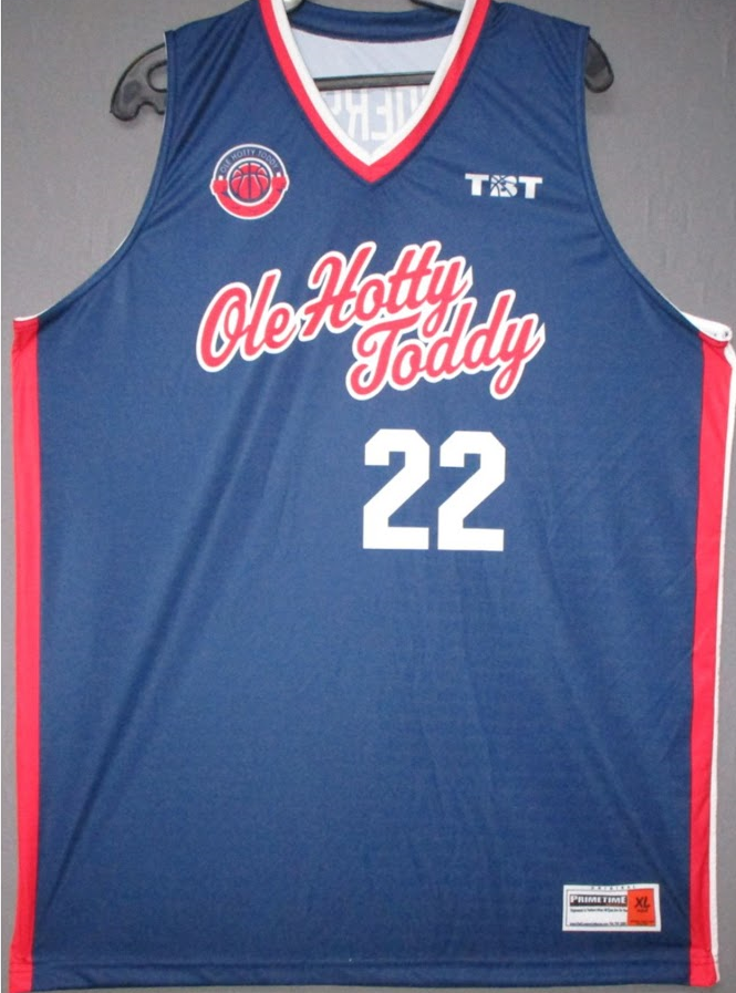 Hotty Toddy (Ole Miss Alumni) - 2017 Official Team Jersey (BLUE)