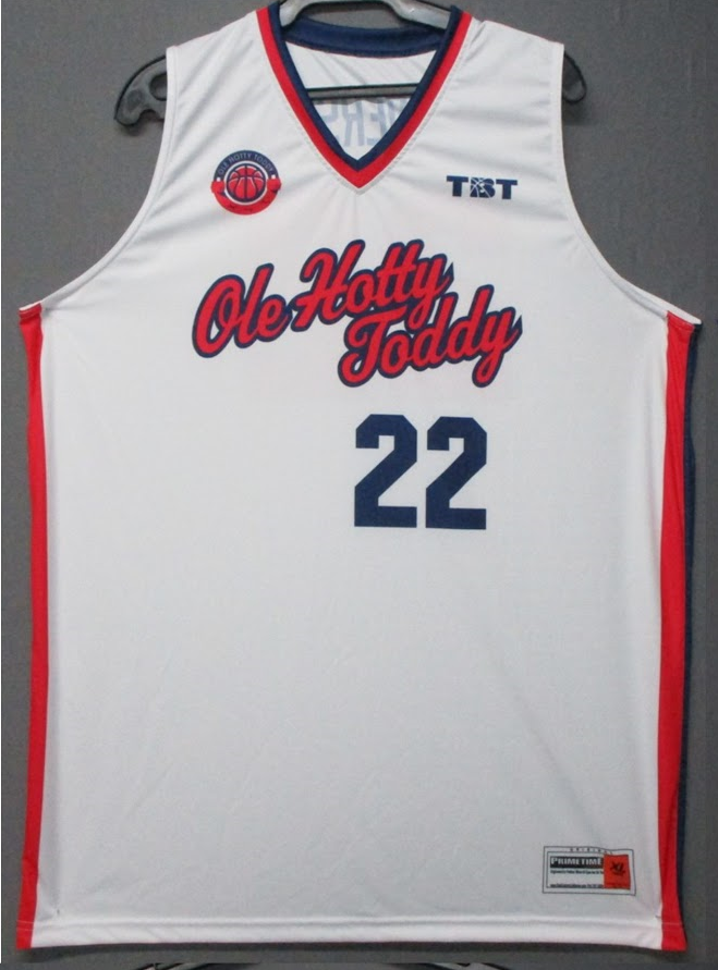 Hotty Toddy (Ole Miss Alumni) - 2017 Official Team Jersey (WHITE)