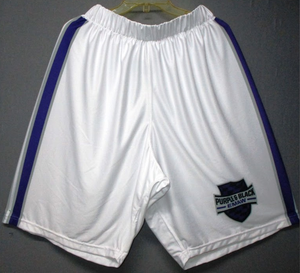 Purple and Black (Kansas State Alumni) - 2017 Official Team Shorts (White)