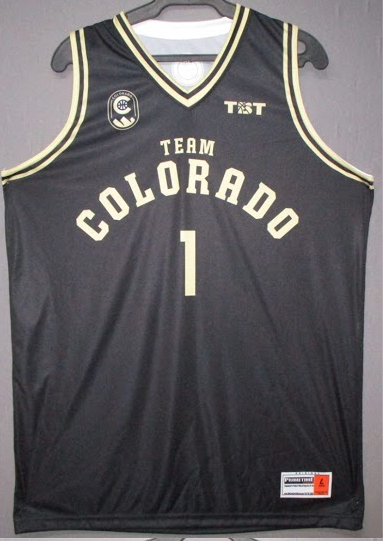 Team Colorado (University of Colorado Alumni) - 2017 Official Team Jersey (Black)