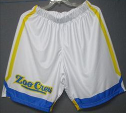 Zoo Crew (University of Pittsburgh Alumni) - 2017 Official Team Shorts (White)